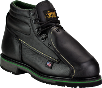 "Men's Work One 6"" Steel Toe Metguard Boot (U.S.A.) E069 - Was $199.99"