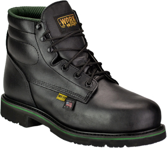 "Women's Work One/Thorogood 6"" Steel Toe Metguard Boot (U.S.A.) E078-F  