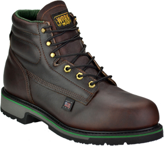 "Women's Work One/Thorogood 6"" Steel Toe Work Boot (U.S.A.) S060-F  -  804-4711-F"