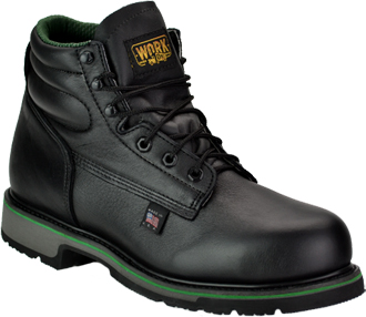 "Men's Work One/Thorogood 6"" Steel Toe Work Boot (U.S.A.) S061  
