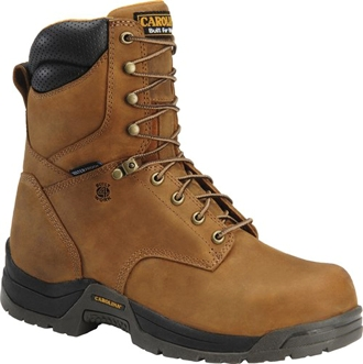 "Men's Carolina 8"" Classic Waterproof Work Boots CA8020"