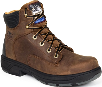 "Men's Georgia Boot 6"" Work Boots G6554 (8.5 Wide Only) - Was $119.99"