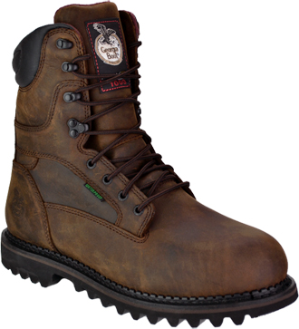 "Men's 9"" Georgia Boot Waterproof & Insulated Work Boot G8162"