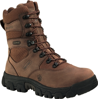 "Men's Wolverine 8"" Hawthorne Insulated Waterproof Hunting Boots W05626"