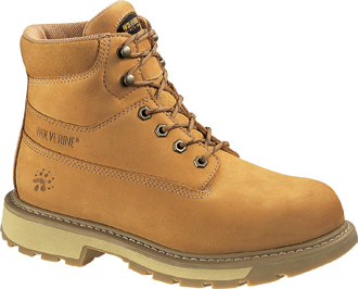 "Men's Wolverine 6"" Insulated & Waterproof Work Boots W01041"