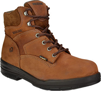 "Men's Wolverine 6"" Work Boots W02038"