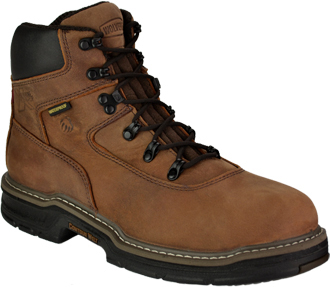 "Men's Wolverine 6"" Maurader Waterproof & Insulated Work Boots W02162"
