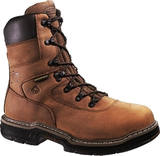 "Men's Wolverine 8"" Maurader Waterproof & Insulated Work Boots W02164"