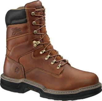 "Men's Wolverine 8"" Raider Work Boots W02425"