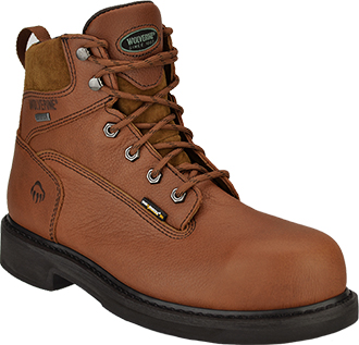 "Men's Wolverine 6"" Waterproof Work Boots W02563"