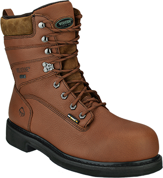 "Men's Wolverine 8"" Waterproof Work Boots W02565"