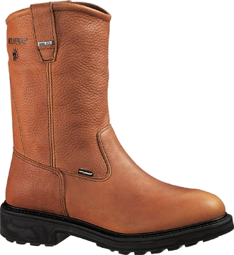 "Men's Wolverine 10"" GORE-TEX� Waterproof Wellington Work Boots W02570"