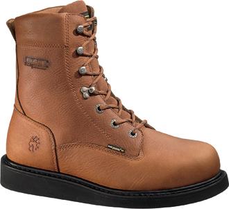 """Men's Wolverine 8"""" Wedge Work Boots W02639"""