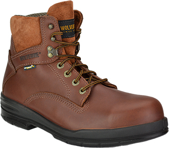 "Men's Wolverine 6"" Work Boots W03122"