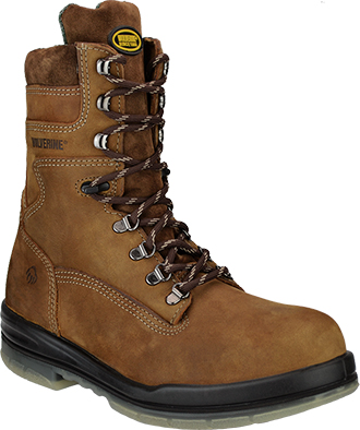 "Men's Wolverine 8"" Waterproof & Insulated Work Boots W03238"