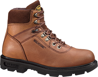 "Men's Wolverine 6"" Work Boots W04213"