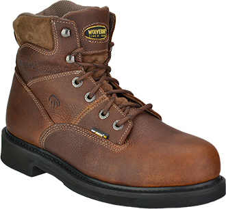 "Men's Wolverine 6"" Tremor Work Boots WO4326"