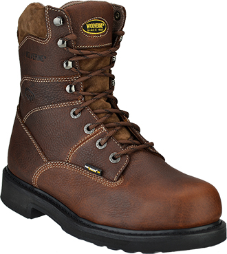 "Men's Wolverine 8"" Tremor Work Boots W04328"