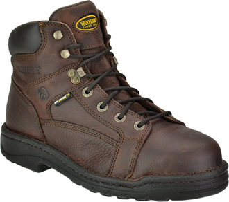 "Men's Wolverine 6"" Exert Lace-to-Toe Work Boots W04378"