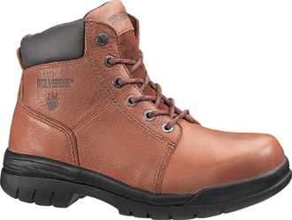 "Men's Wolverine 6"" Work Boots W04735"