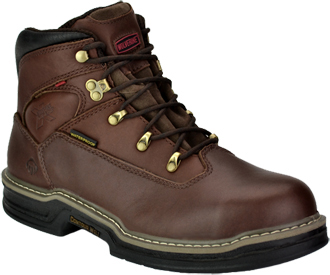 "Men's Wolverine Buccaneer 6""  Waterproof Work Boots W04821"