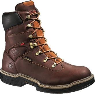"Men's Wolverine Buccaneer 8"" Waterproof Work Boots W04825"