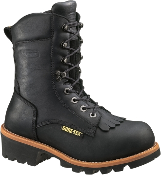 "Men's Wolverine 8"" GORE-TEX� Waterproof Logger Work Boots WO5635"