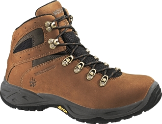 Men's Wolverine Highlands Waterproof Mid-Cut Hiker Work Boots W05703