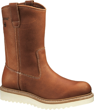"Men's Wolverine 10"" Wedge Wellington Work Boots W08285"