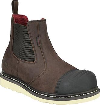 2c819cec970 Men s Avenger Composite Toe WP Slip-On Wedge Sole Romeo Work Boot ...
