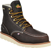 "Men's Thorogood 6"" Waterproof Wedge Sole Work Boot (U.S.A.) 804-3600"