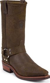 Men S Double H 12 Quot Western Harness Cowboy Boots U S A