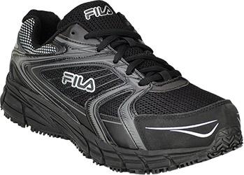 ebecab4b2a Men's Fila Reckoning Steel Toe Athletic Work Shoe 1SR21264-010 ...