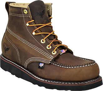 """77d4c82a133 Men's Revolt 6"""" Moc Toe Wedge Sole Work Boot (U.S.A.) RV1000"""