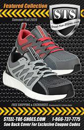 Men's STS Steel Toe Work Shoe Z-STS250