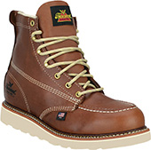 """Men's Thorogood 6"""" Steel Toe Boots (U.S.A.) 804-4200-GWP501 with Free Gift Lace"""