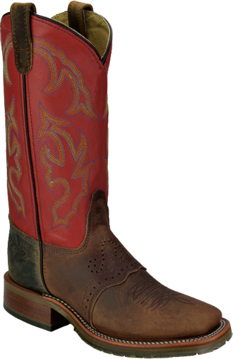 Women's Double H Wide Square Roper Work Boots DH5101