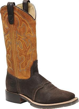 Women's Double H Wide Square Roper Boots DH5102